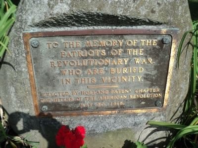 Patriots of the Revolutionary War Marker image. Click for full size.