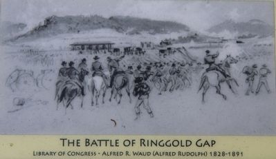 The Battle of Ringgold Gap Marker image. Click for full size.