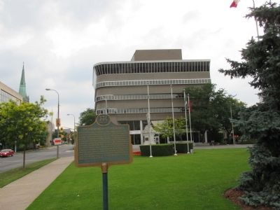 The Founding of St. Catharines Marker image. Click for full size.