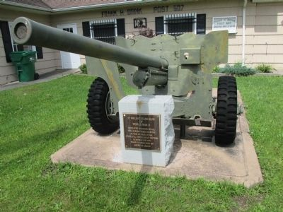 57 MM Anti-Tank Gun of World War II Marker image. Click for full size.