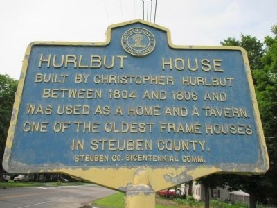 Hurlbut House Marker image. Click for full size.