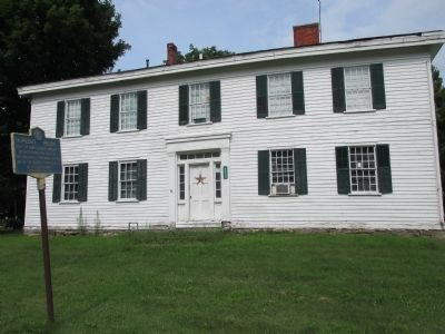 Hurlbut House and Marker image. Click for full size.