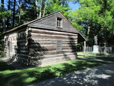Nancy Jemison Log Cabin image. Click for full size.