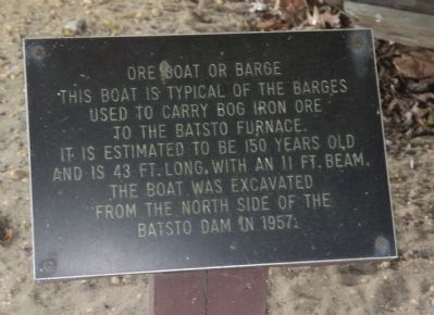 Ore Boat or Barge Marker image. Click for full size.