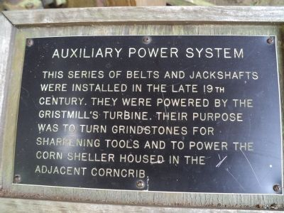 Auxiliary Power System Marker image. Click for full size.