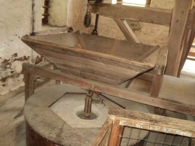 Grindstone Inside the Gristmill image. Click for full size.
