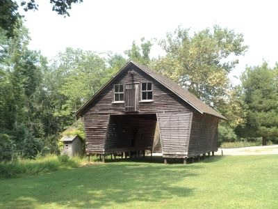 Corncrib image. Click for full size.