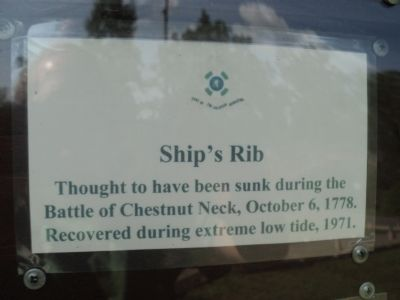 Ship�s Rib Marker image. Click for full size.