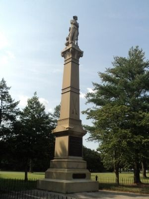 Battle of Chestnut Neck Monument image. Click for full size.