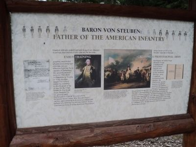 Baron Von Steuben: Father of the American Infantry Marker image. Click for full size.