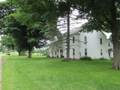 Oldest House in Steuben County and Marker image. Click for full size.