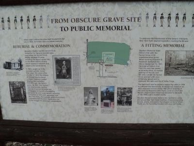 From Obscure Grave Site to Public Memorial Marker image. Click for full size.