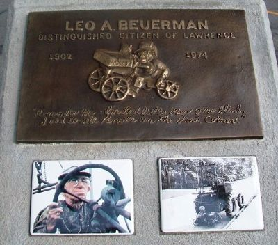 Leo A. Beuerman Marker image. Click for full size.