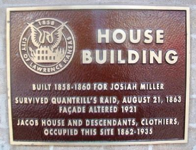 House Building Marker image. Click for full size.