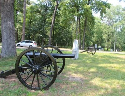 Massenburg's Georgia Battery Marker image. Click for full size.