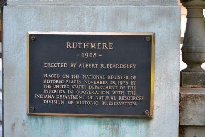 Ruthmere Marker image. Click for full size.