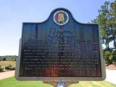 Pelham, Alabama Marker image. Click for full size.