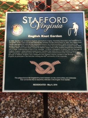 English Knot Garden Marker image. Click for full size.