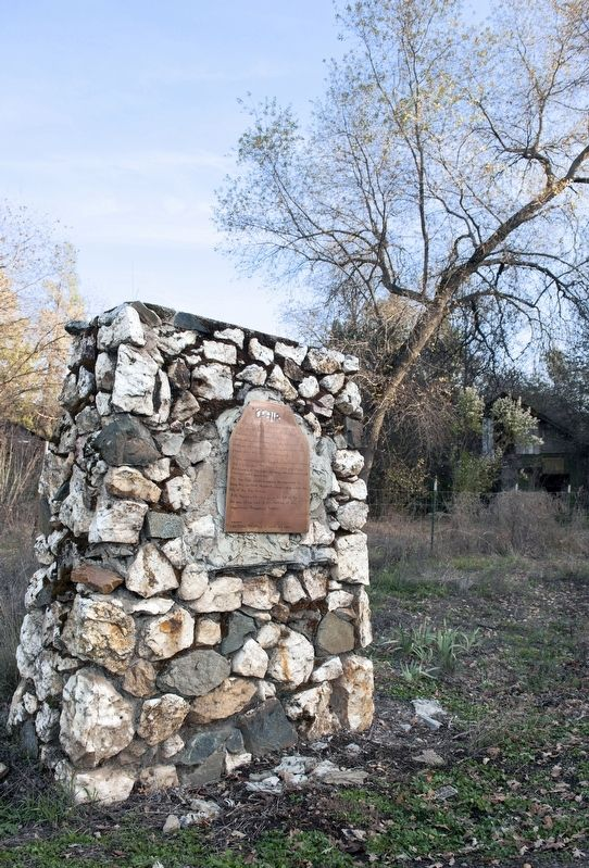 Town of Ophir Marker (Temporary Marker Placed by Ophir Residents) image. Click for full size.