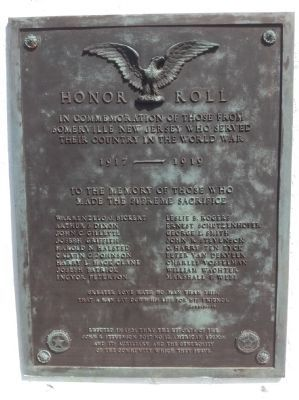 Main Plaque - southward facing image. Click for full size.