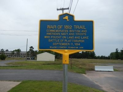 War of 1812 Trail Marker image. Click for full size.