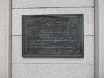 Ammi B. Young Marker image. Click for full size.
