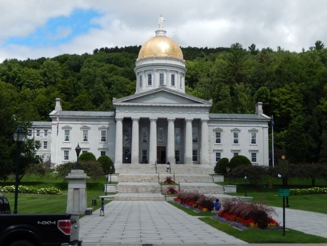 Vermont State House image. Click for full size.