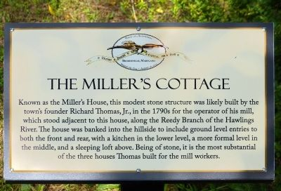 The Miller's Cottage Marker image. Click for full size.