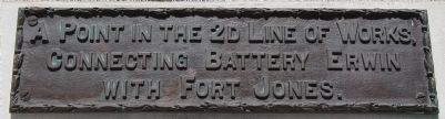 A Point in the 2d Line of Works Marker image. Click for full size.