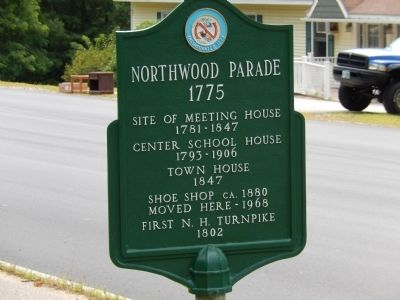 Northwood Parade 1775 Marker image. Click for full size.