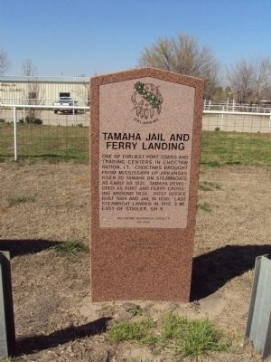 Tamaha Jail and Ferry Landing Marker image. Click for full size.