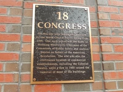 18 Congress Marker image. Click for full size.