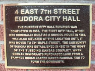 4 East 7th Street Marker image. Click for full size.