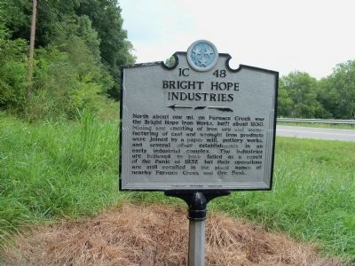 Bright Hope Industries Marker image. Click for full size.