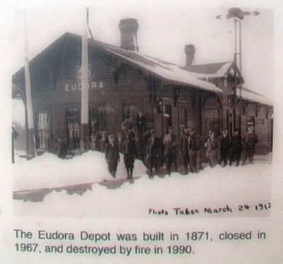 Image on City of Eudora - The Early Years Marker image. Click for full size.