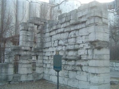 Ruins of the First State Prison in Illinois image. Click for full size.