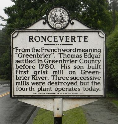 Ronceverte Marker image. Click for full size.