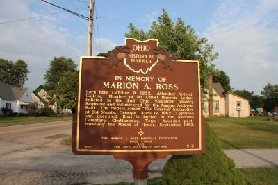 Marion A. Ross Marker image. Click for full size.