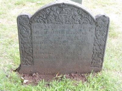 William Button's Gravestone image. Click for full size.