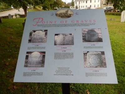 Point of Graves Marker image. Click for full size.