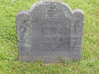 Anne Jaffrey's Gravestone image. Click for full size.