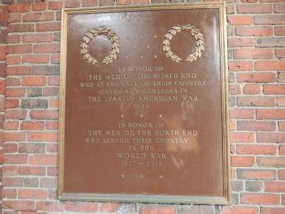 The Men of the North End Marker image. Click for full size.