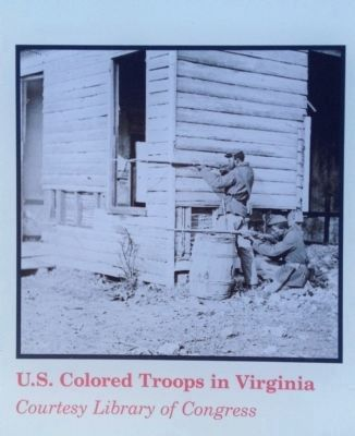 U.S. Colored Troops in Virginia image. Click for full size.