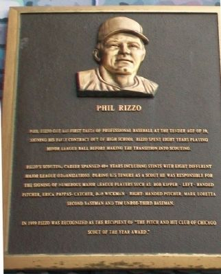 Phil Rizzo Marker image. Click for full size.