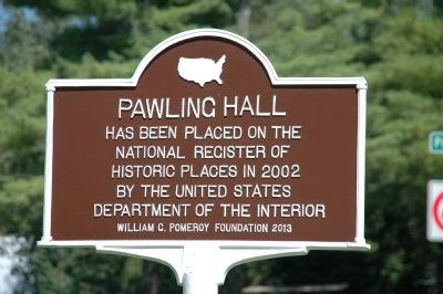 Pawling Hall Marker image. Click for full size.