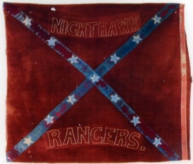 17th Virginia Cavalry Flag<br>Nighthawk Rangers image. Click for full size.