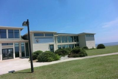 Harkers Island Visitor Center at Cape Lookout National Seashore image. Click for full size.