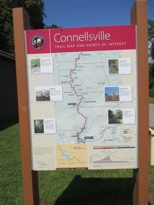 Connellsville Marker image. Click for full size.