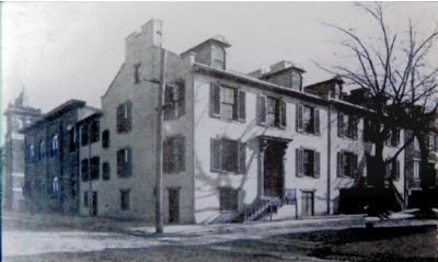 Johnson's home, corner of 2nd and Court Streets image. Click for full size.