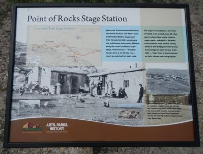 Point of Rocks Stage Station Marker image. Click for full size.